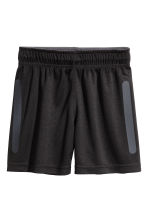 Shorts sportivi - Nero -  | H&M IT 2