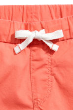 Cotton shorts - Coral - Kids | H&M 3
