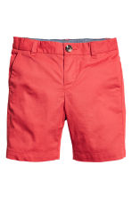 Chino shorts - Light red - Kids | H&M CN 2