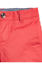 Chino shorts - Light red - Kids | H&M CN 3