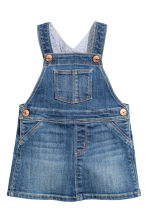 Dungaree dress - Denim blue - Kids | H&M 1
