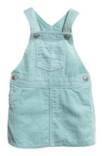 Dungaree dress - Light turquoise -  | H&M 1