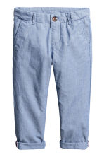 Chino - Slim fit - Blauw/chambray - KINDEREN | H&M BE 2
