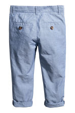 Chino - Slim fit - Blauw/chambray - KINDEREN | H&M BE 3