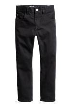 Pantalon en twill Regular fit - Noir -  | H&M CH 2