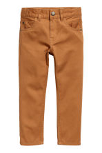 Pantaloni in twill Regular fit - Cammello -  | H&M IT 2