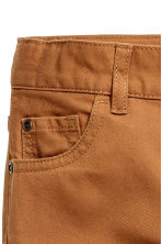 Pantaloni in twill Regular fit - Cammello -  | H&M IT 3