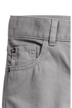 Pantalon en twill Regular fit - Gris - ENFANT | H&M CH 3