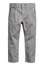 Pantalon en twill Regular fit - Gris - ENFANT | H&M CH 2