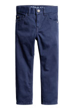 Twill trousers Regular fit - Dark blue - Kids | H&M 2