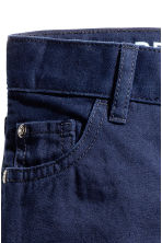 Twill trousers Regular fit - Dark blue - Kids | H&M 4
