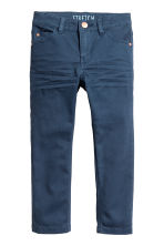Stretch trousers Slim fit - Dark blue - Kids | H&M 2