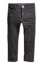 Stretchbroek - Slim fit - Zwart -  | H&M BE 2