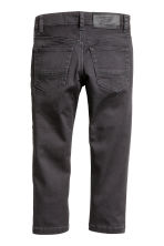 Stretchbroek - Slim fit - Zwart -  | H&M BE 3