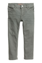 Stretch trousers Slim fit - Grey -  | H&M 2