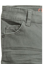 Stretch trousers Slim fit - Grey -  | H&M 3