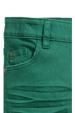 Pantalon stretch Slim fit - Vert -  | H&M CH 3