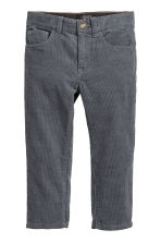 Corduroy trousers - Grey - Kids | H&M CN 2