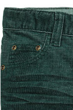 Pantaloni in velluto a costine - Verde scuro - BAMBINO | H&M IT 3