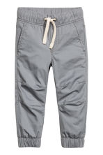 Cotton pull-on trousers - Grey - Kids | H&M 2