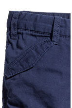 Lined cargo trousers - Dark blue -  | H&M 3