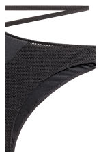 Mesh Brazilian briefs - Black - Ladies | H&M CA 3