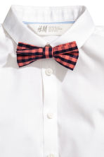 Short-sleeve shirt and bow tie - White - Kids | H&M 3