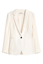 Fitted jacket - Natural white - Ladies | H&M 2