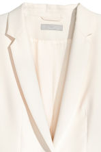 Fitted jacket - Natural white - Ladies | H&M 3