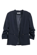 Fitted jacket - Dark blue - Ladies | H&M 2