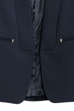 Fitted jacket - Dark blue - Ladies | H&M 3