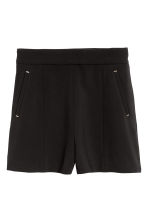 City shorts - Black - Ladies | H&M 2