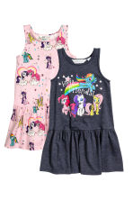 2-pack jersey dresses - Light pink/My Little Pony -  | H&M 2