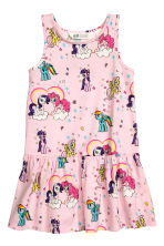 2-pack jersey dresses - Light pink/My Little Pony -  | H&M 3