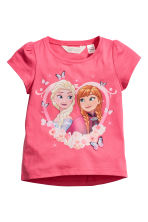 2-pack jersey tops - White/Frozen - Kids | H&M CN 3