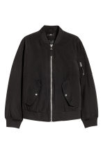 Padded Bomber Jacket - Black - Men | H&M CA 2