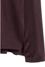 Fine-knit jumper - Plum - Ladies | H&M CN 3