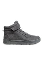 Hi-top trainers - Dark grey - Kids | H&M 1