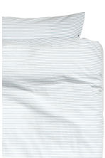 Striped duvet cover set - Blue - Home All | H&M CN 2