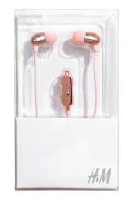 In-ear headphones - Rose gold-coloured - Ladies | H&M 2