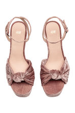 Platform sandals - Vintage pink - Ladies | H&M 2