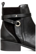 Boots with Straps - Black - Ladies | H&M CA 4