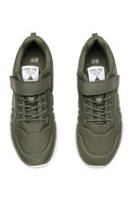 Trainers in scuba fabric - Khaki green - Kids | H&M CA 2