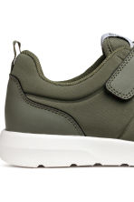 Trainers in scuba fabric - Khaki green - Kids | H&M CA 4