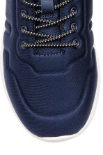 Trainers in scuba fabric - Dark blue - Kids | H&M CA 3