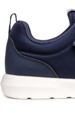 Trainers in scuba fabric - Dark blue - Kids | H&M 4