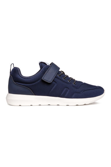 Trainers in scuba fabric - Dark blue - Kids | H&M 1