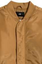 Nylon bomber jacket - Camel - Men | H&M IE 3