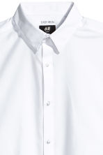 Easy-iron shirt Slim fit - White - Men | H&M CA 3