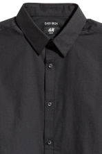 Easy-iron shirt Slim fit - Black - Men | H&M CA 3